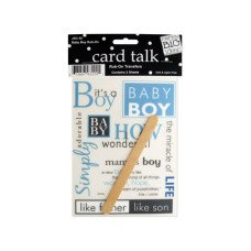 Baby Boy Rub-On Transfers