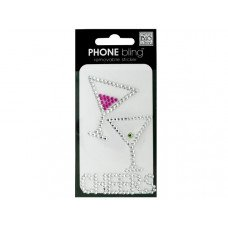 'Cheers' Phone Bling Removable Stickers
