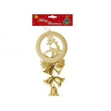 Christmas Bells/Reindeer Hanging Decoration