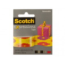 Scotch Expressions Removable Tape - Southwest Yellow