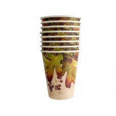 12 oz. Leaves and Berries Cups Set