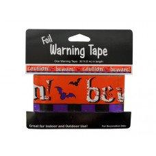 Foil Halloween Warning Tape
