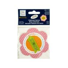 Princess Chipboard Spinner Sticker