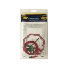 Christmas Chipboard Shapes with Foil Accents