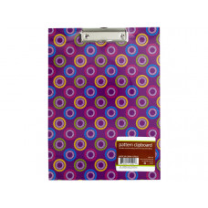 Pattern Clipboard with Steel-Chrome Plated Clip