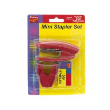 Mini Stapler Set with Staple Remover