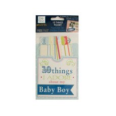 10 Things I Adore About My Baby Boy Journaling Pocket