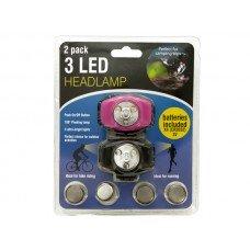 3 LED Headlamp Set