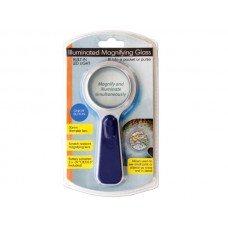 Pocket-size Illuminated Magnifying Glass