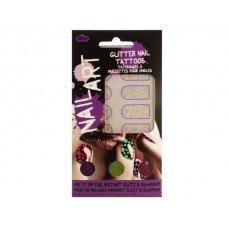 Dots Nail Art Glitter Nail Tattoos Kit