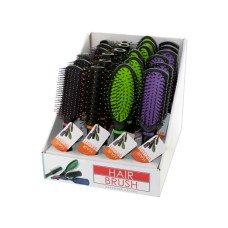 Stylish Hair Brush Countertop Display