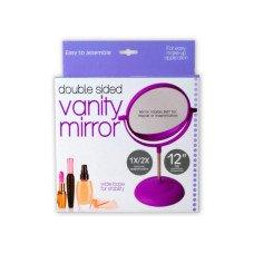 Double-Sided Vanity Mirror