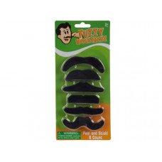 Self-Adhesive Fuzzy Mustache Set