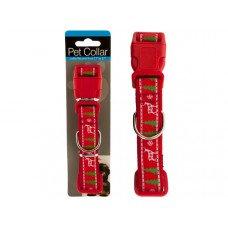 Christmas Design Adjustable Pet Collar