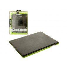 Black & Green ifrogz iPad Snap-In Folio Case
