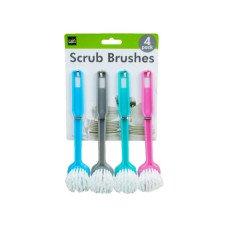 Multi-Purpose Round Head Scrub Brushes