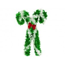 Christmas Candy Canes Wall Decoration