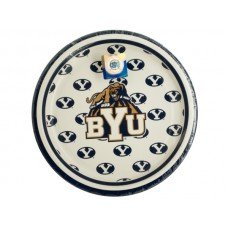 Brigham Young University Dessert Party Plates