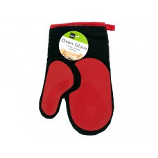 Heat Resistant Oven Glove with Silicone Grip