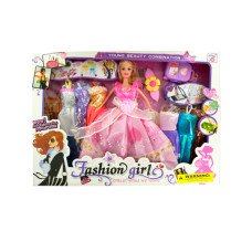 Fashion Doll with Large Wardrobe & Accessories