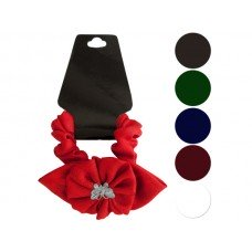 Butterfly & Ruffle Flower Accent Hair Twister