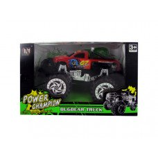 Friction Big Wheel Super Power Pickup Truck