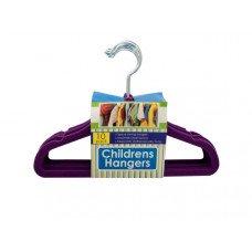 Velvet-Flocked Children's Hangers Set