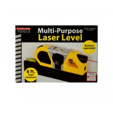 Multi-Purpose Laser Level with Suction Mount