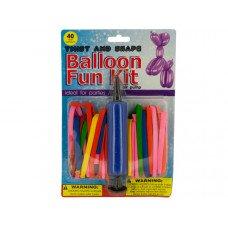 Twist & Shape Balloon Fun Kit with Air Pump