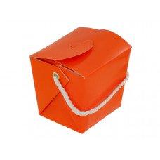 Mini Orange Gift Pail