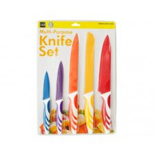 Colored Multi-Purpose Kitchen Knife Set