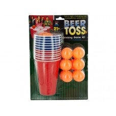 Beer Toss Drinking Game Kit