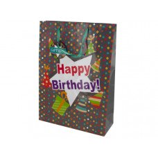 Happy Birthday Party Hats Gift Bag