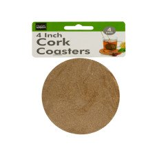Cork Beverage Coasters Set