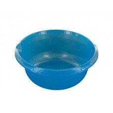 Round Plastic Basin with Pour Spout