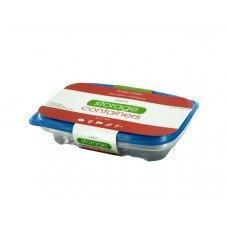 25.3 oz. Rectangular Food Storage Container Set