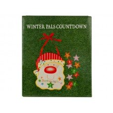 Christmas Countdown Santa Wall Decoration