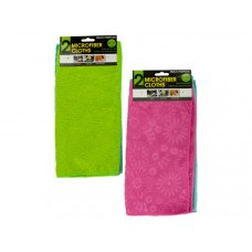 Multi-Purpose Floral Microfiber Cloths