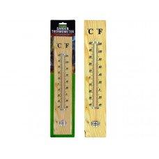 Wooden Garden Thermometer