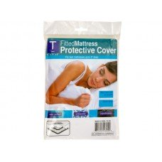 Twin Size Fitted Protective Mattress Cover