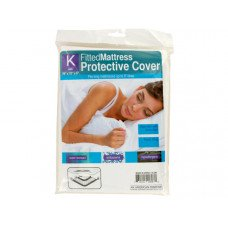 King Size Fitted Protective Mattress Cover