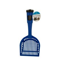 Pet Litter Scooper with Waste Bags in Handle