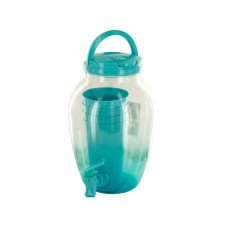 1.2 Gallon Beverage Dispenser Set with Cups