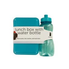 Lunch Box with 20 oz. Water Bottle