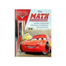 Disney Pixar Cars Math Workbook with Pencils
