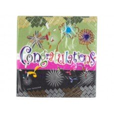 Congratulations Beverage Napkins