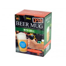 24 oz. Novelty Beer Mug with Bell