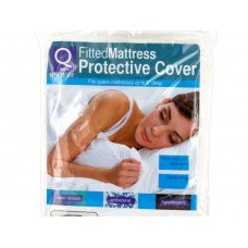 Queen Size Fitted Protective Mattress Cover