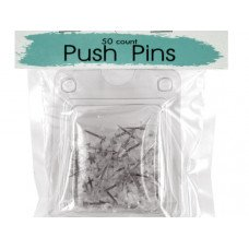 Clear Plastic Push Pins