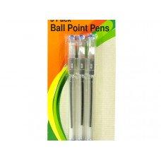 Blue Ball Point Stick Pens Set